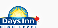 High Level, AB Days Inn is your Choice